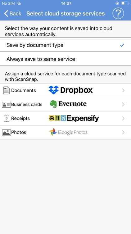ScanSnap Cloud screenshot-3