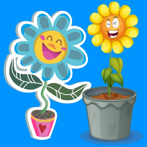 Flower Power Emoji Stickers