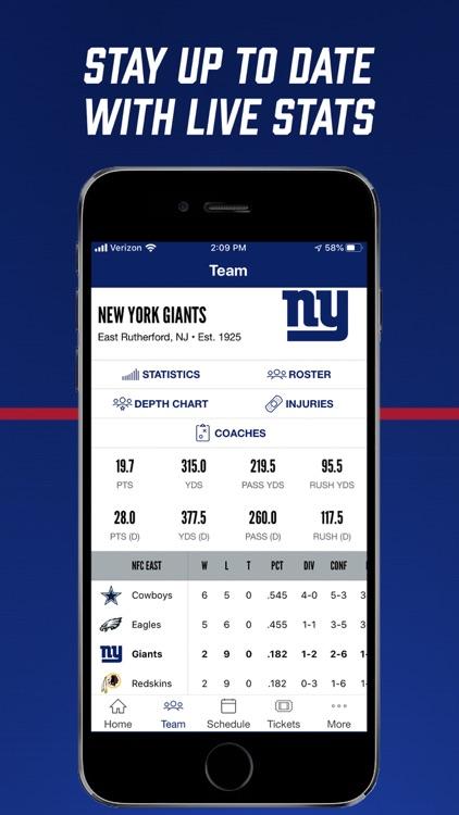 New York Giants screenshot-6