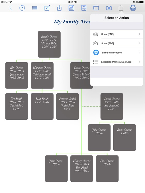 Family Tree Builder screenshot-4