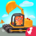 恐龙宝宝儿童驾驶建筑卡车游戏