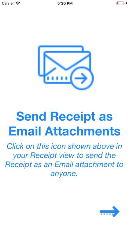 Receipts! screenshot-3