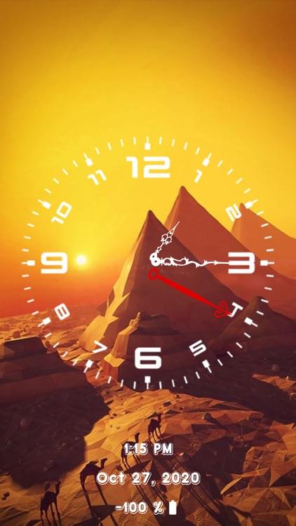 Analog Clock - Stand Face Time screenshot-9