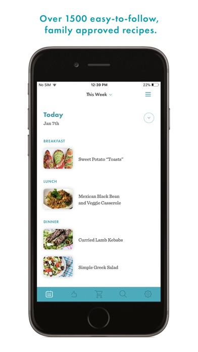 Real Plans - Meal Planner