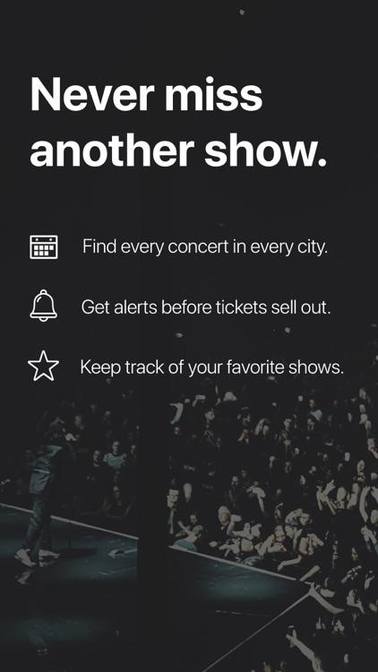 Songkick Concerts screenshot-0
