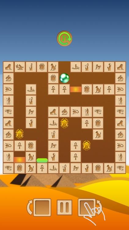 Rotate the maze: Gold of Egypt screenshot-4