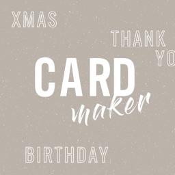 Thank You Card Maker