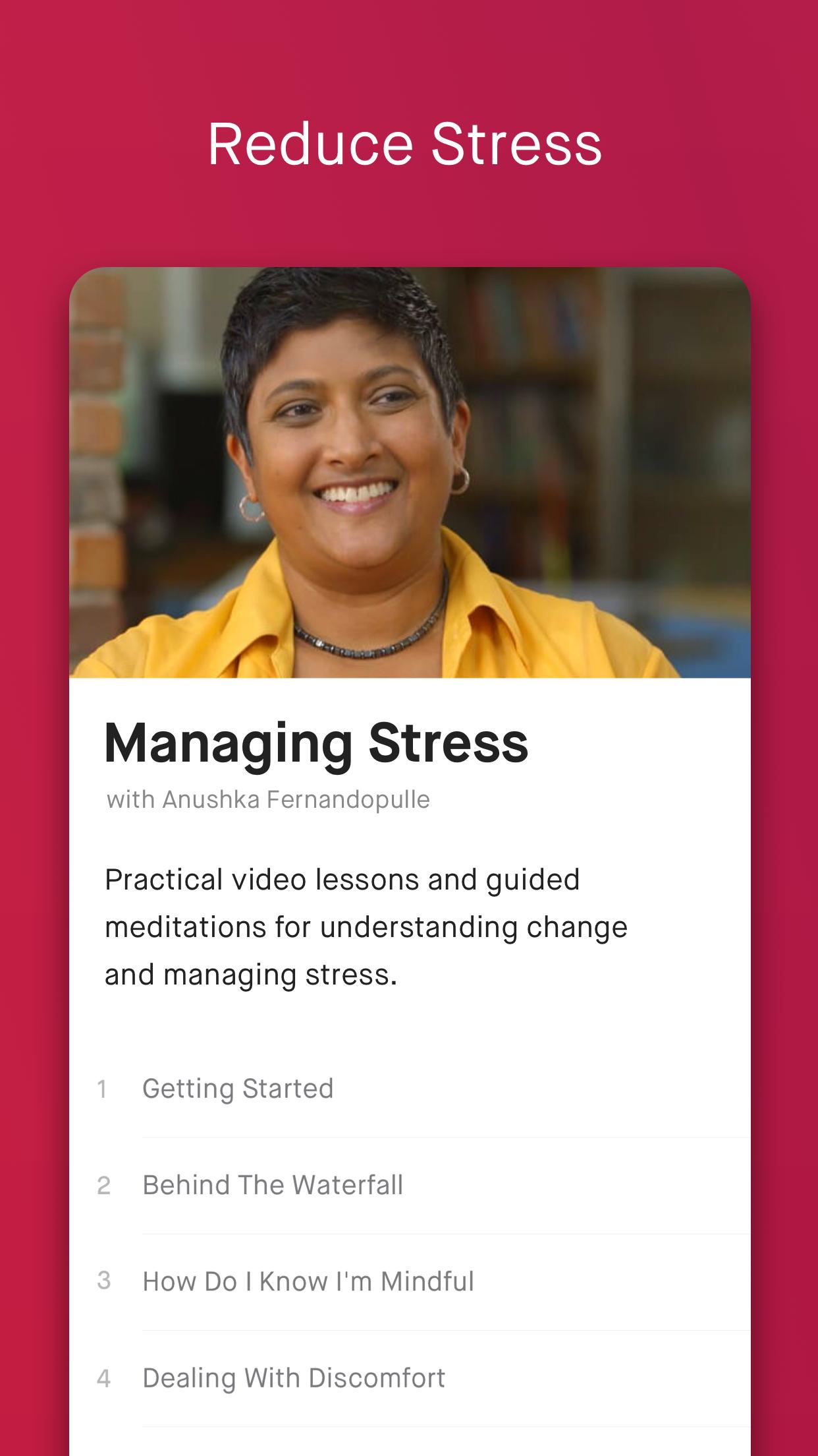 10% Happier: Meditation Screenshot
