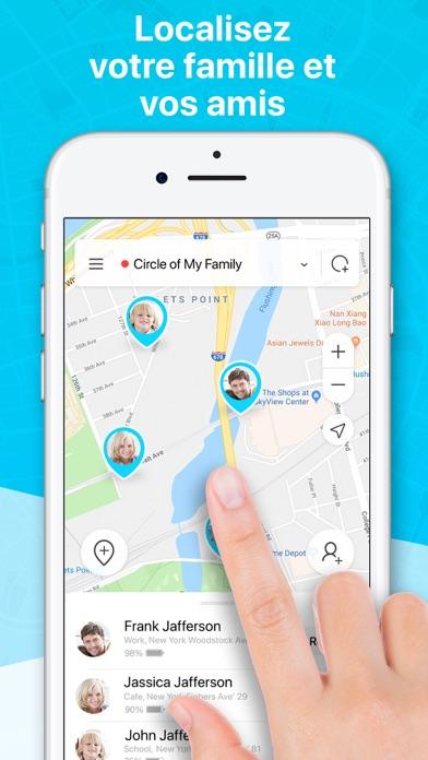 Screenshot for Life.Me - Sécurité familiale in Lebanon App Store