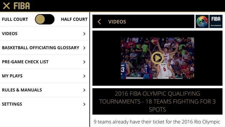 FIBA iRef Pre-Game screenshot-4