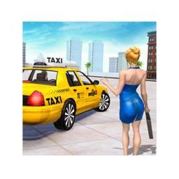 Taxi Simulator 3D Car Games