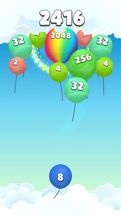 2048 Balloons 3D screenshot-5
