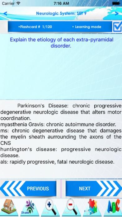 NCLEX Neurology 2600 note&Quiz screenshot two