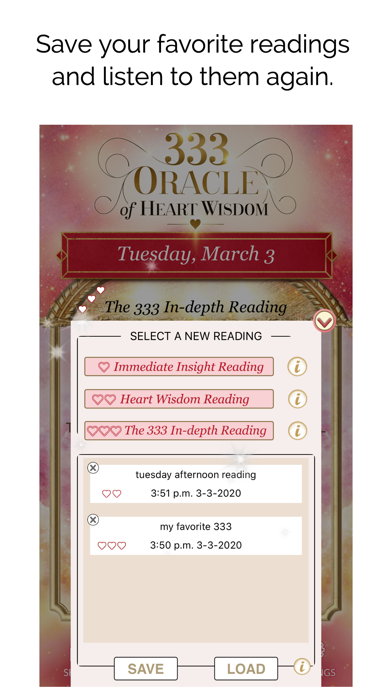 333 - Oracle of Heart Wisdom screenshot 3