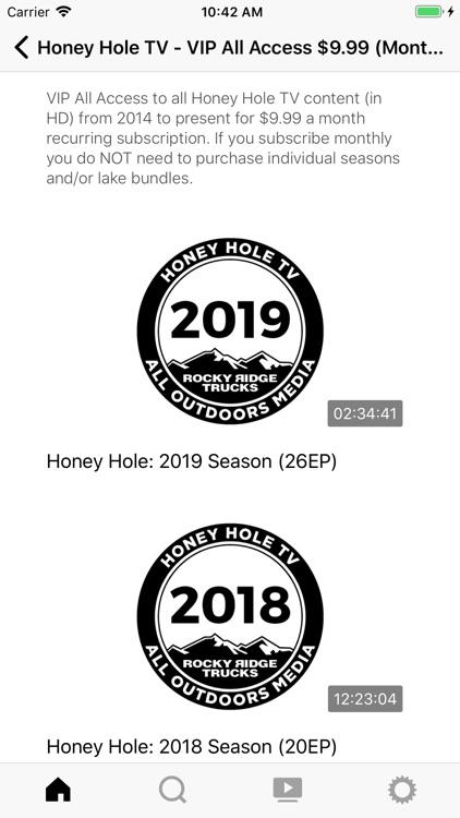 Honey Hole All Outdoors