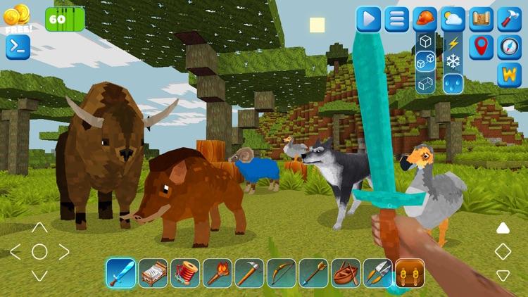 PrimalСraft 3D: Block Building screenshot-7
