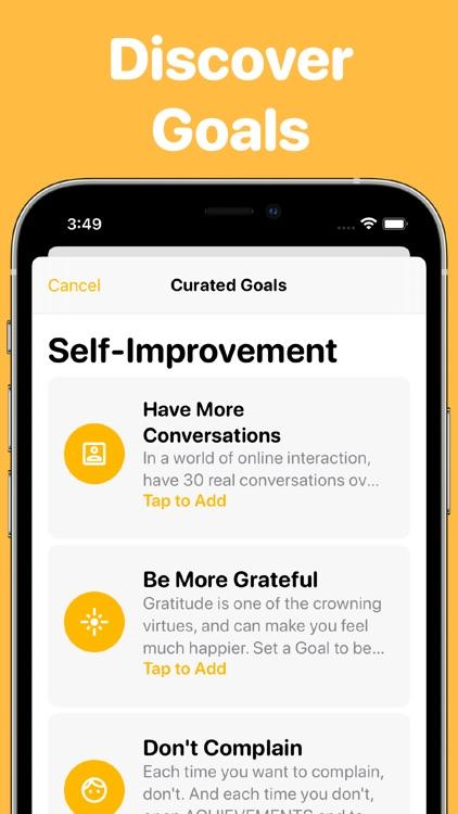 achvmnts-Habits/Goals/Streaks screenshot-9