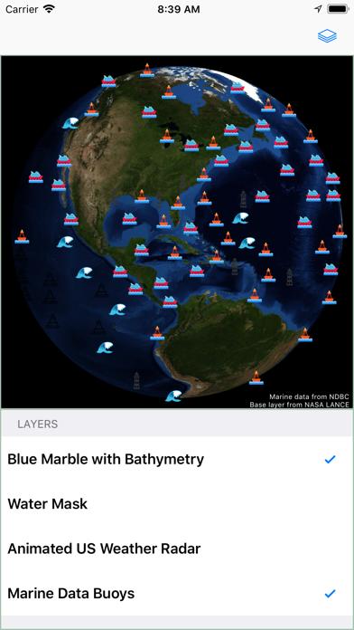 Oceans Now Screenshot