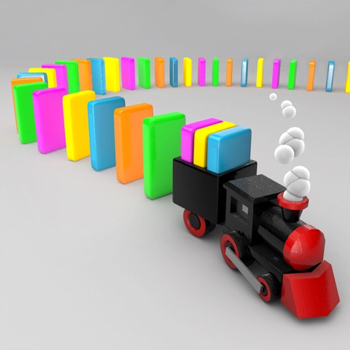 Domino Chain Train