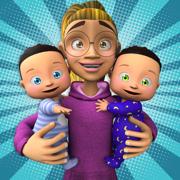 双胞胎保姆日托游戏