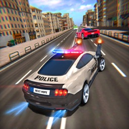 Police Highway Chase Car Games