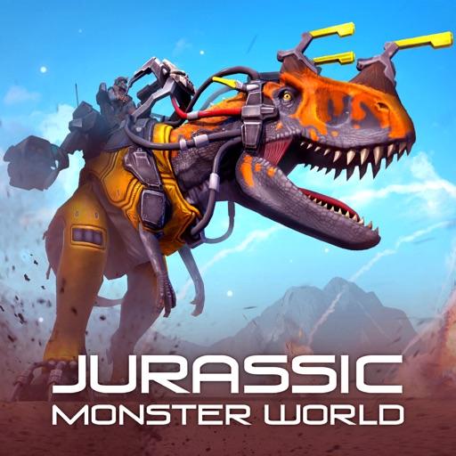 Jurassic Monster World 3D FPS icon