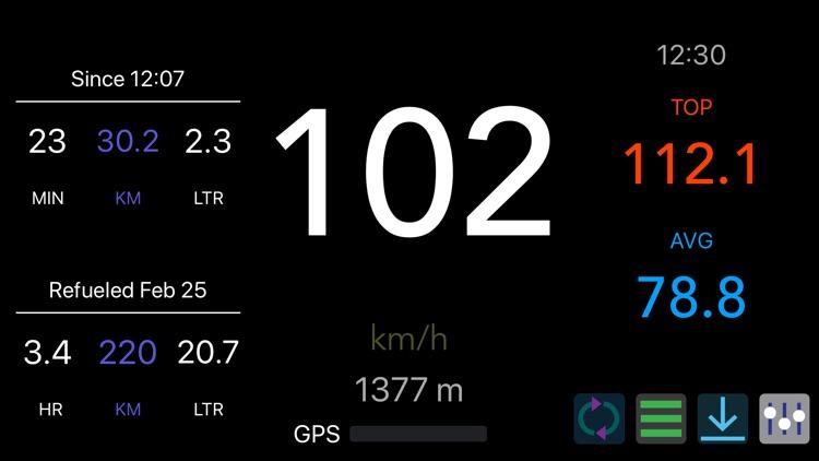 MySpeed - Speedometer & Fuel screenshot-9