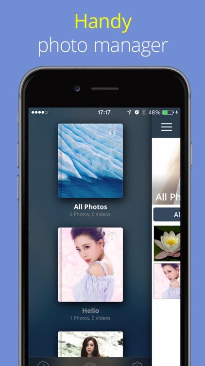 Private Photo Album Vault Lock screenshot-3