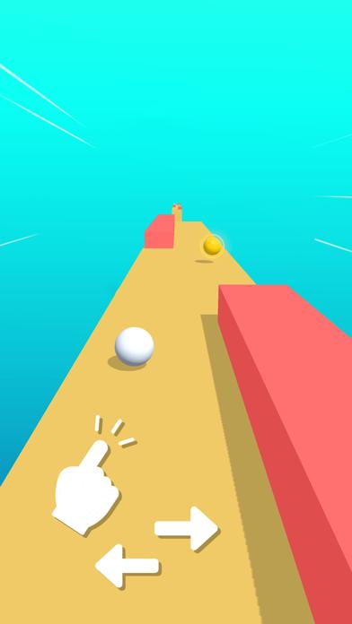 Race Ball: Fun Color Road Run