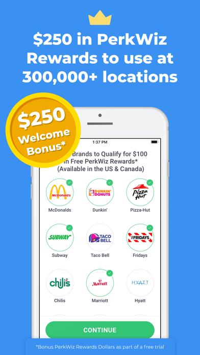 PerkWiz Gigs & Rewards Screenshot