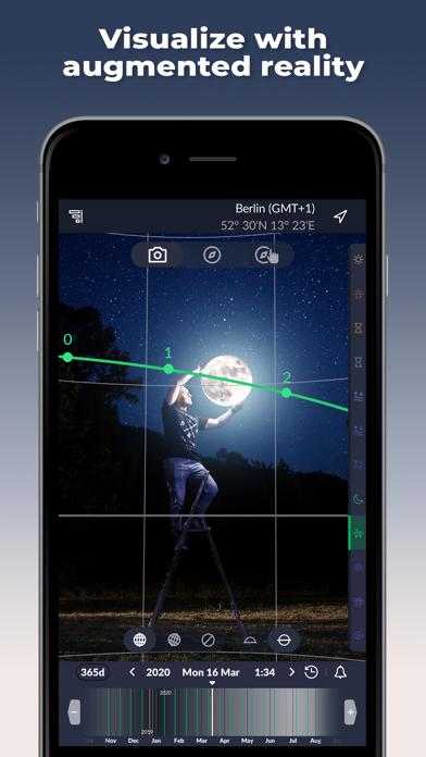 Ephemeris: Sun & Moon Calendar screenshot 4