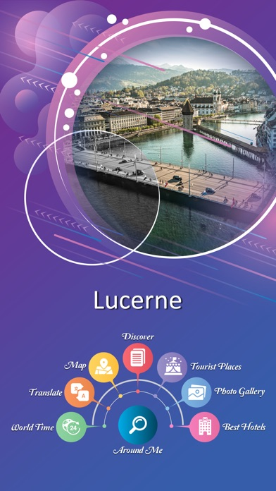 Lucerne City Guide screenshot 2
