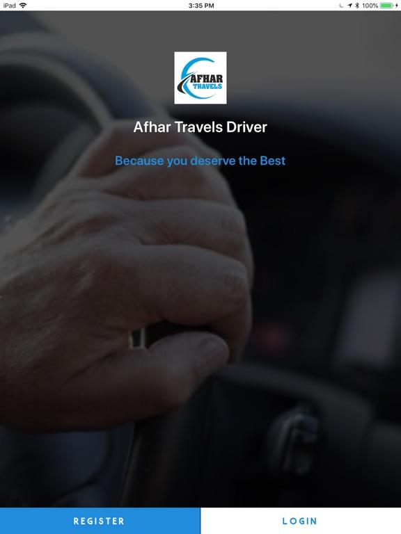 Screenshot #1 for Afhar Travels Driver