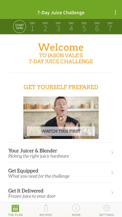 Jason's 7-Day Juice Challenge screenshot-0