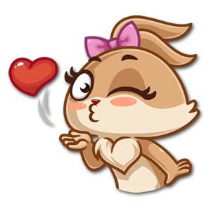 Banny Love Sticker Pack