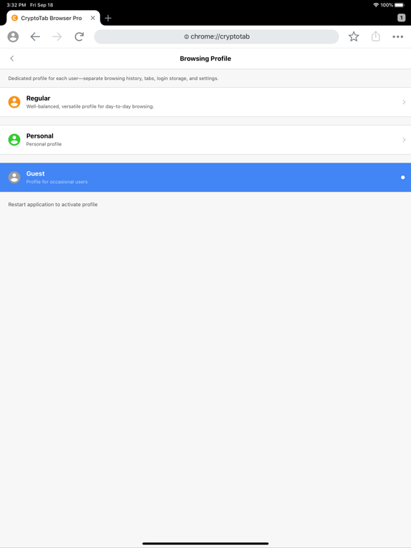 CryptoTab Browser Pro screenshot 14