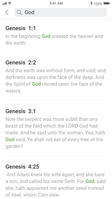 Bible KJV - Daily Bible Verse screenshot 8