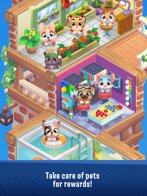 Screenshot #4 for Pet Rescue Puzzle Saga