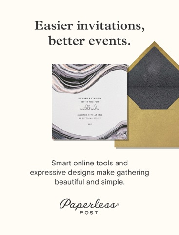Paperless Post Invitations - náhled