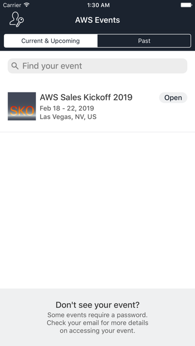 AWS Americas Events - 窓用