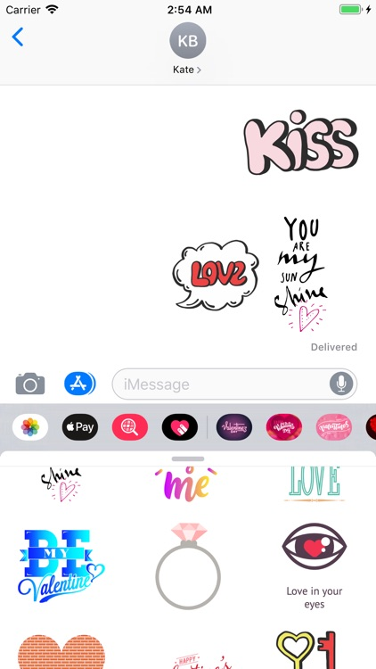 Valentines Day 2019 Stickers screenshot-2