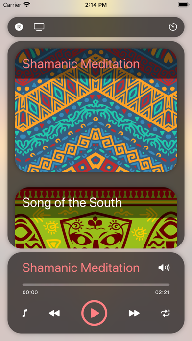 African Drums Trans Meditation screenshot one