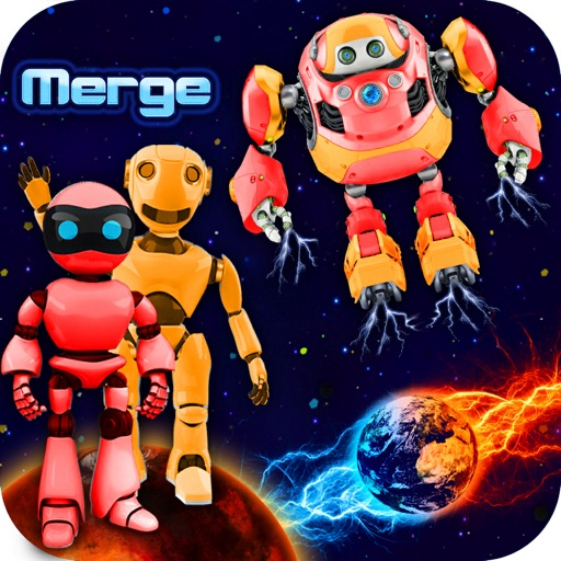 Merge Robots & Go To Mars!