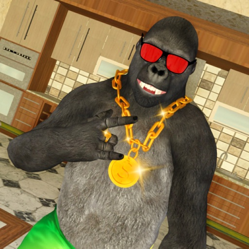Scary Stranger: Gorilla Pranks iOS App