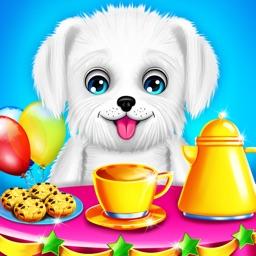 Puppy Surprise Tea Party Game