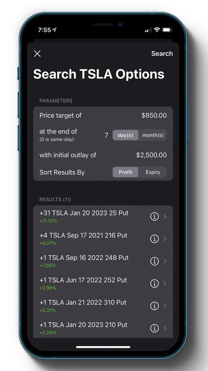 Options Profit Calculator screenshot-5