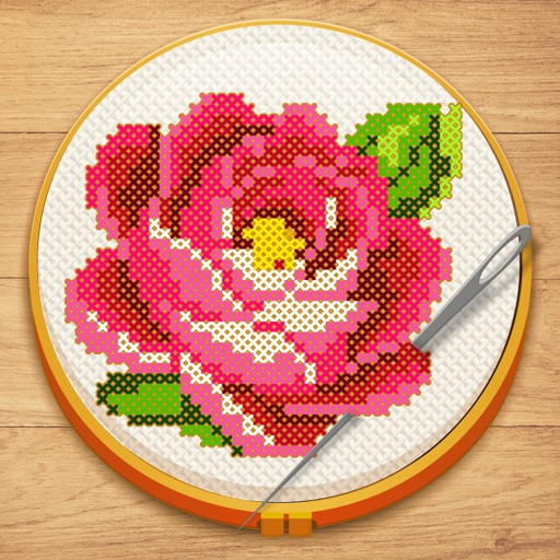 Cross Stitch: Color by Number app for ipad