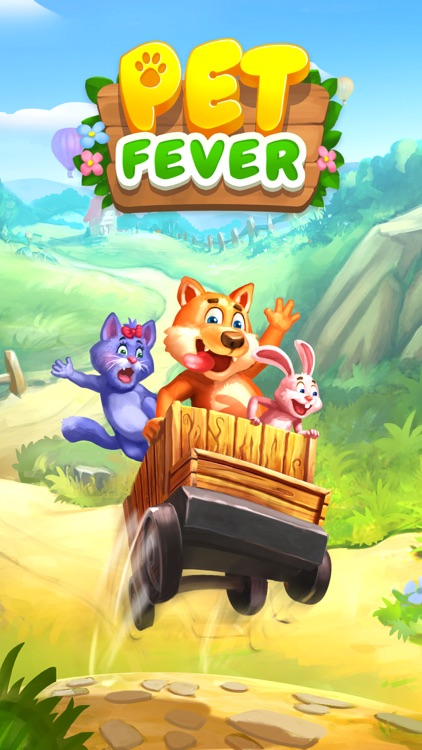 PET FEVER BLAST: Match 3 Games