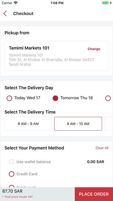 messages.download Tamimi Markets Online software