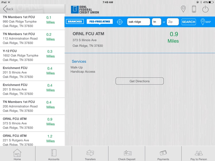 ORNL FCU Tablet App screenshot-4